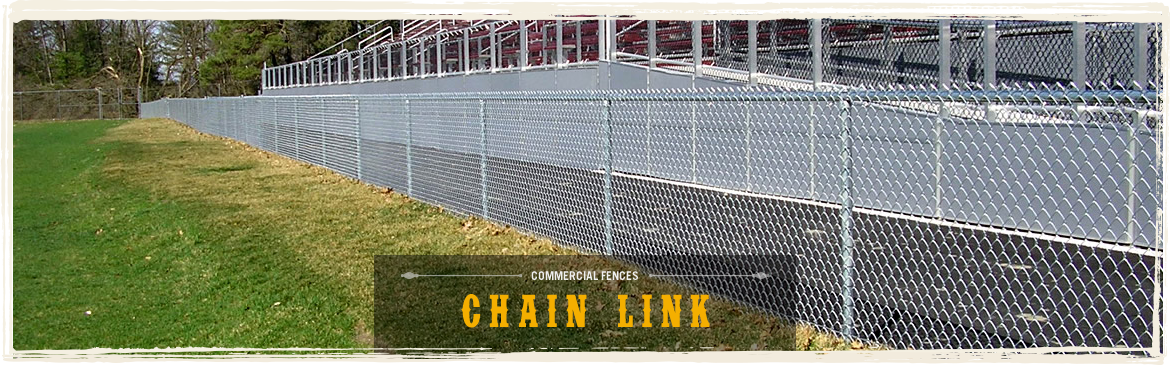 Commercial Fences - Chain Link