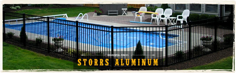 Residential Fences - Storrs Aluminum