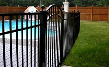 Residential Aluminum Fence