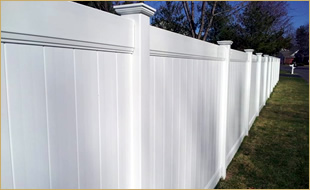 Privacy Fence Styles Mechanicville Residential Fencing