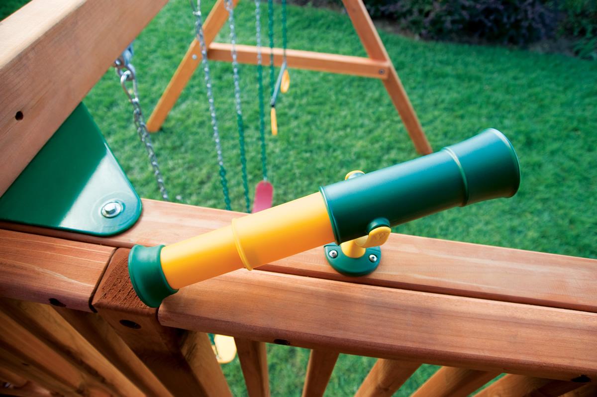 Rainbow Play Systems Gallery Troy Custom Swing Sets