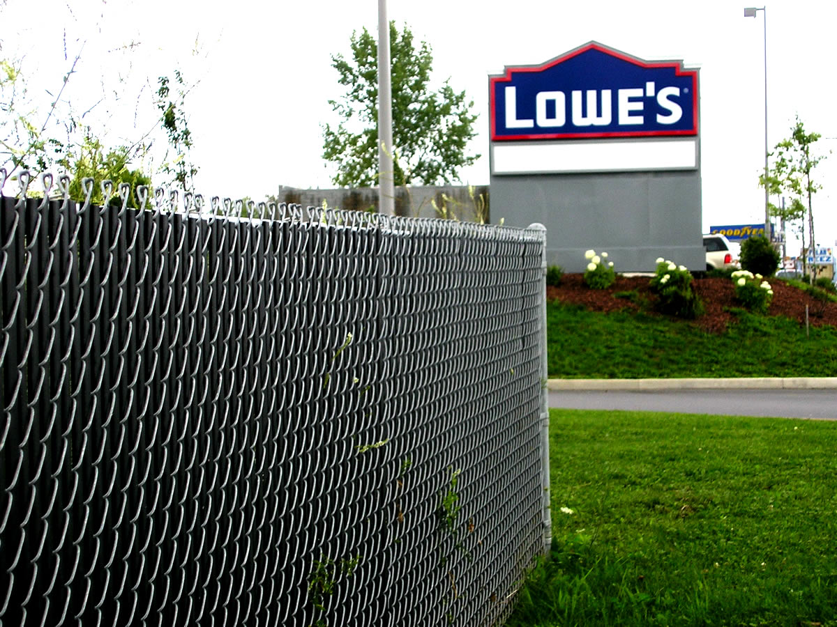 Privacy screen for chain link fence sears - Fence With Privacy Slats