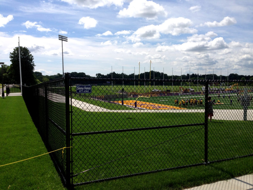 Suny Albany Football Stadium Siena Fence Co Inc
